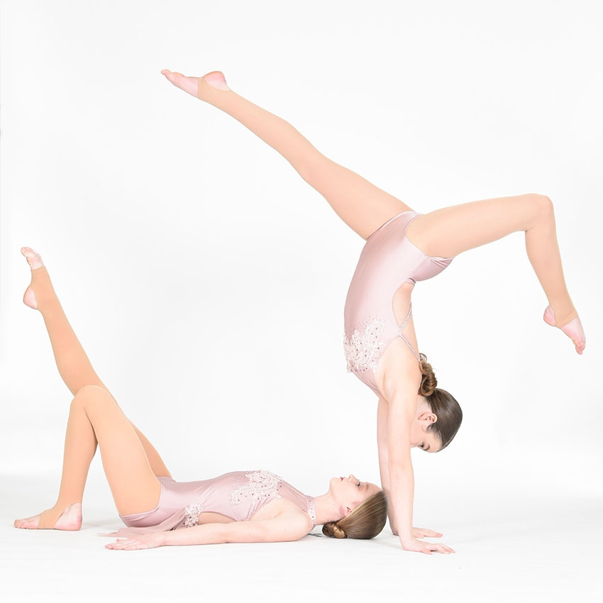 two girls in lyrical pose